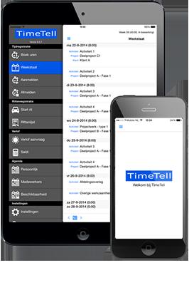 Die TimeTell App bietet einen zusätzlichen Service für die Anwender