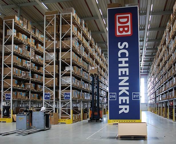 Stolz auf Zusammenarbeit mit DB Schenker